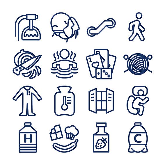 icones line x 16