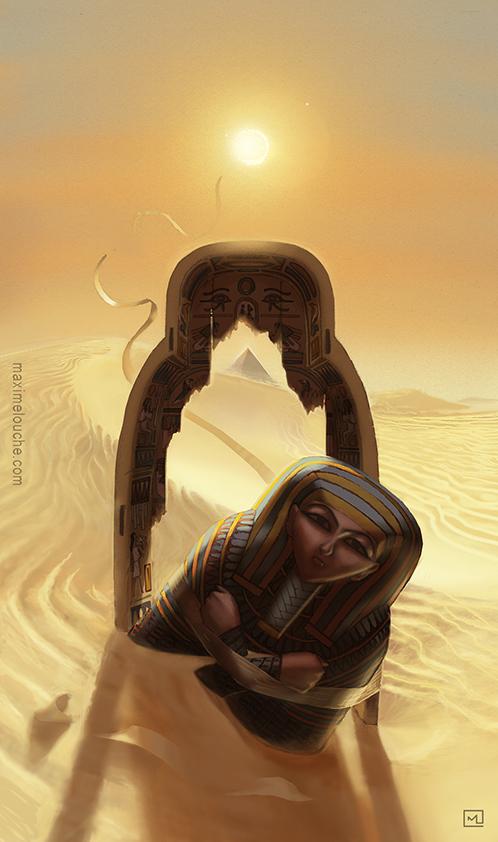 le labyrinthe de pharaon